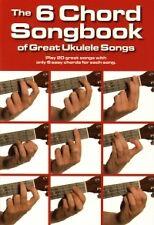 6 CORDA Songbook di grande UKULELE SONGS