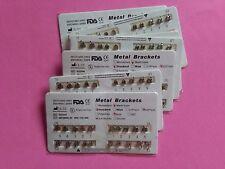 """NEW 20 sets Dental Bracket Brace Orthodontic Standard Roth Slot.022"""" 3 4 5 Hooks"""