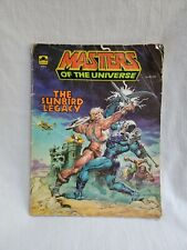 """Vintage Masters Of The Universe """"The Sunbird Legacy"""" Comic Book 1984"""
