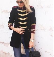 Zara 100% algodón abrigos y chaquetas militares para Mujeres