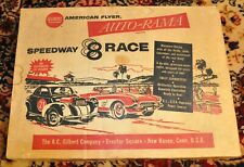 American Flyer No. 19090A  Auto-Rama Speedway 8 Race