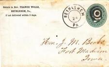 18XX, Bethlehem, PA to Fort Madison, IA (26394)