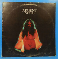 ARGENT NEXUS VINYL LP 1974 ORIGINAL PRESS ZOMBIES GREAT CONDITION! VG++/VG!!