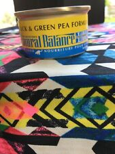 24 Cans Natural Balance Limited Ingredient Diets Duck & Green Pea Formula Read⬇️