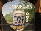 RARE LUKE BRYAN TWO LANE American Golden Lager Beer 2' Floor Decal Country Music