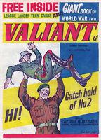 COMPLETE VALIANT COMICS on 6  PRINTED DVD ROM