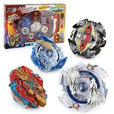 Bey Battle Burst Battling Top Fusion Metal Master Fight with 4 Launcher Grip Set