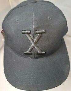 NWT Cuban X Giants Negro League Baseball museum fitted cap size 7 black
