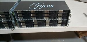 EMC Isilon x200 CHASSIS NO DRIVES OR SYSTEM SSD