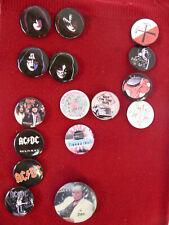 Lot Pack Badge Button Ø25mm Jimi Hendrix Rock USA Electric Gypsy Woodstock