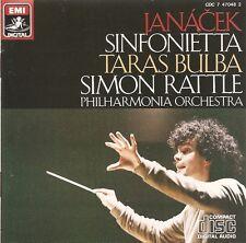 Janáček - Sinfonietta • Taras Bulba / Philharmonia Orchestra • Simon Rattle