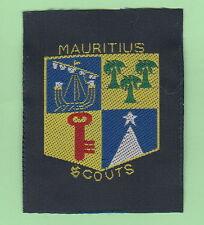 Mauritius Island Scout official  Emblem Patch / 2015 world scout jamboree Japan