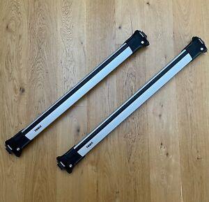 Thule 9585 Wingbar Edge System For Railing, Silver - Medium / Long