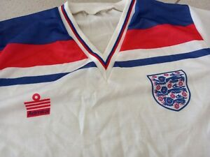 VTG ENGLAND ADMIRAL JERSEY 1980/83 WC ESPANA 1982 SOCCER SHIRT