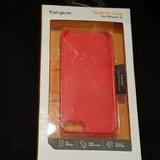 Targus Slim Fit Case for iPhone 5, 5S & iPhone SE Red