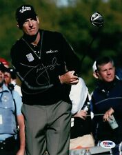 Jim Furyk Signed Autographed 8X10 Photo PGA Golfer Holding Driver PSA/DNA