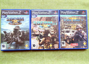 Socom 1, II / 3: U.S. Navy Seals (Sony PlayStation 2, PAL, PS2)
