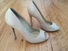 Tony Bianco High (3 in. to 4.5 in.) Leather Open Toe Heels for Women