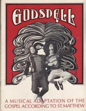 "Stephen Schwartz   ""Godspell""   Souvenir  Program   1976    BROADWAY"