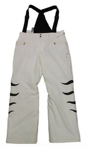 Bogner Gipsy T Women's Ski Pants White Black Size 38 M Or 42 L New With Label