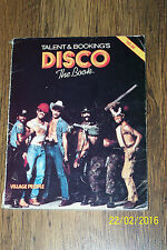 DISCO the book 1979 - (246 pages) best book about disco history
