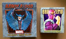 LOT OF 2 BOWEN BARON MINI-BUSTS: BLOOD & ZEMO