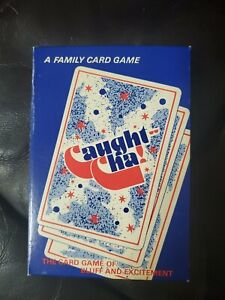 Caught-Cha 1987 Card Game 2 to 8 PLAYERS New vintage!! Cards Sealed