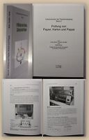 Böck Prüfung von Papier Karton und Pappe 2008 Lehrbuch Papierherstellung xy