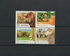 Australia  2012 Farming Block set MNH per scan