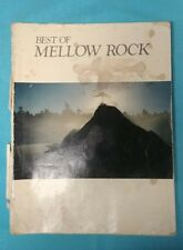 Warner Bros publication / Sheet Music BEST OF MELLOW ROCK  (Young, Simon, Eagles