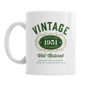 70th Birthday Gift Present Idea For Men Women Ladies Dad Party Happy 70 Mug