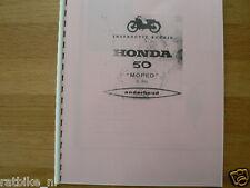 H0206 HONDA---INSTRUCTIE BOEKJE 50 MOPED C310----MODEL