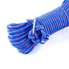 15M 300kg 3KN Safety Rock Climbing Rope, Perfessional Rappelling Auxiliary bl