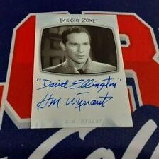 2020 Twilight Zone Archives AI17 H.M. Wynant Inscription Autograph