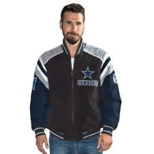 DALLAS COWBOYS  Mens Suede Jacket Officially Licensed NFL Medium NWT
