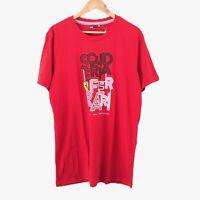 Scuderia Ferrari Red T-Shirt Size L Graphic Tee Crew Neck Short Sleeve