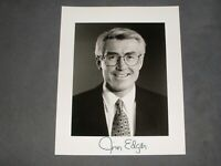 GOVERNOR OF ILLINOIS  JIM EDGAR HAND SIGNED AUTOGRAPHED PHOTO 8x10 ORIGINAL