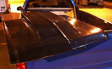 Ford Xw Xy Zc Zd Full Fibreglass Bonnet With 4 Inch Reverse Cowl Scoop 1971