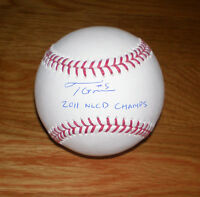 BREWERS Taylor Green signed MLB baseball AUTO w/ 2011 NLCD CHAMPS! inscription