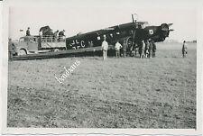 Foto Flugzeug  Ju 52 mit Staffelabzeichen/Wappen-IV./KGzbV-1  (Z927)