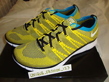 Nike Free Flyknit HTM SP Tour Yellow US 9.5 UK 8.5 43 Gemisch 2013 City Chukka