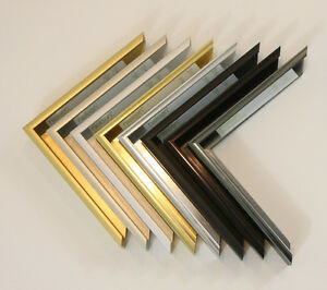 Custom Cut Picture Frame - Sectional Metal - Nielsen 22