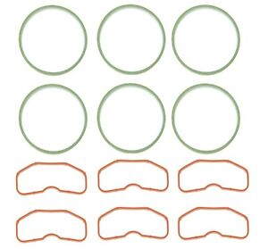 Elring Set of 12 Upper & Lower Intake Manifold Gaskets For Audi  A6 Quattro VW