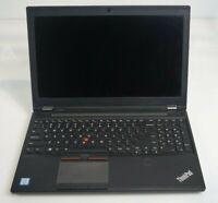 """Lenovo P50 15.6"""" Intel i7-6700HQ Quadro M1000M Parts Repair No RAM HDD Battery"""