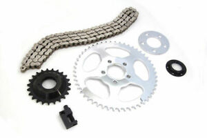 530 Chain Sprocket Final Drive Conversion Kit 06-17 Harley 883 1200 Sportster XL