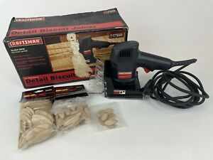 Craftsman Detail Biscuit Plate Joiner, 917550 19,000 RPM W/ Biscuits & Box USA