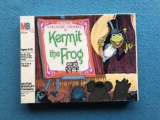 Vintage 1980 Milton Bradley Kermit the Frog Muppets Card Game Toy Jim Hemson