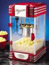 Simeo Popcornmaker FC 170 Retro Series Popcornmaschine Popcorn Maschine Rot