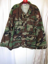 Propper  Camouflage Men Costume Halloween Army Jacket Combat Shirt Sz XL (JAK62