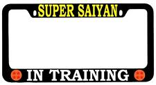 Black METAL License Plate Frame Super Saiyan In Training Dragon Ball Z 4